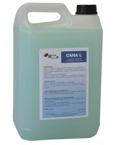 CANA L Traitement liquide des canalisations eaux usées 5 L