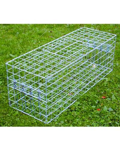 CAGE A PIGEONS MULTIPRISE 2 portes socle grillage 90 x 30 x 30cm