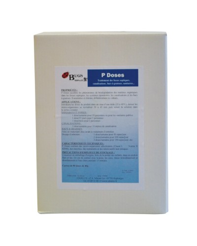 P DOSES doses hydrosolubles 30g BTE 10 DOSES