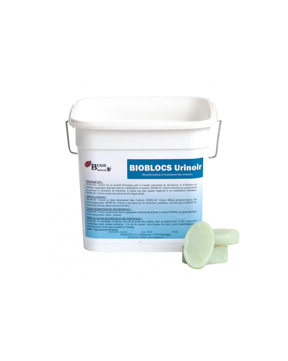 BIOBLOCS urinoirs