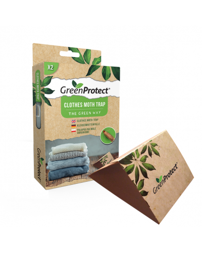 GREEN PROTECT PIEGES A MITES DU VETEMENT lot de 2