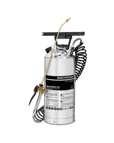 SPRAY MATIC 10 S PULVERISATEUR POMPE A MAIN & RACCORD A AIR COMPRIME