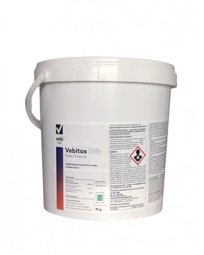 VEBITOX DIFE PASTA GIRASOLE -CARTON 20 KG 4 x 5 KG