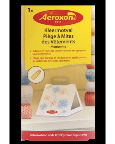 AEROXON LOT DE 2 PIEGES A MITES DU VETEMENT